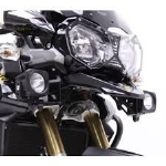 TIGER 800 Denali DX Xtreme Spot Dual Intensity LED Lighting Kit with Full Wiring Harness and M8 Mount DENTT-DX